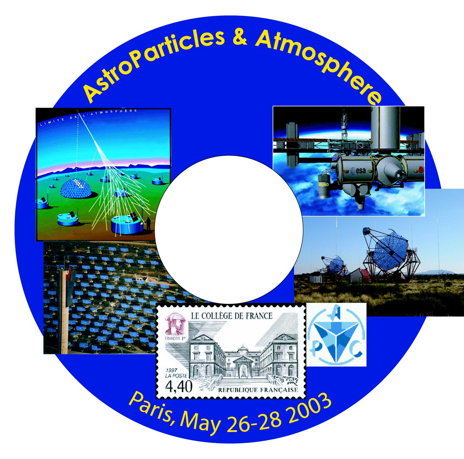 Astroparticles Atmosphere Workshop